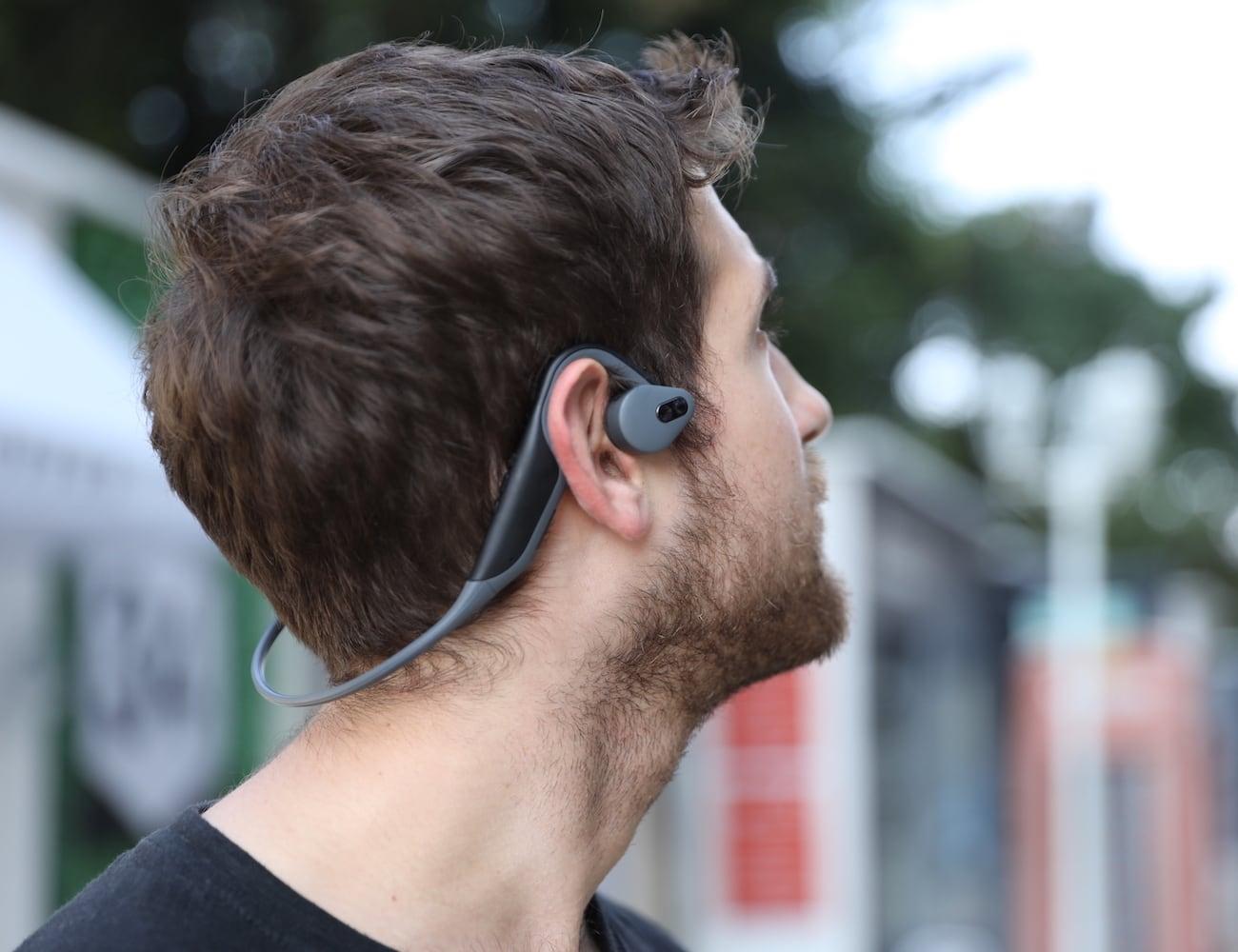 BoneTalker Adder Bone Conduction Bluetooth Headphones keep your ears open