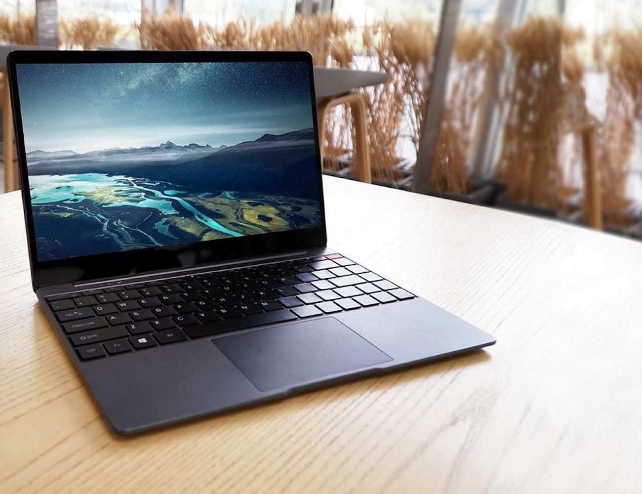 CHUWI AeroBook Bezel-Less Widescreen Laptop has an 80% screen ratio