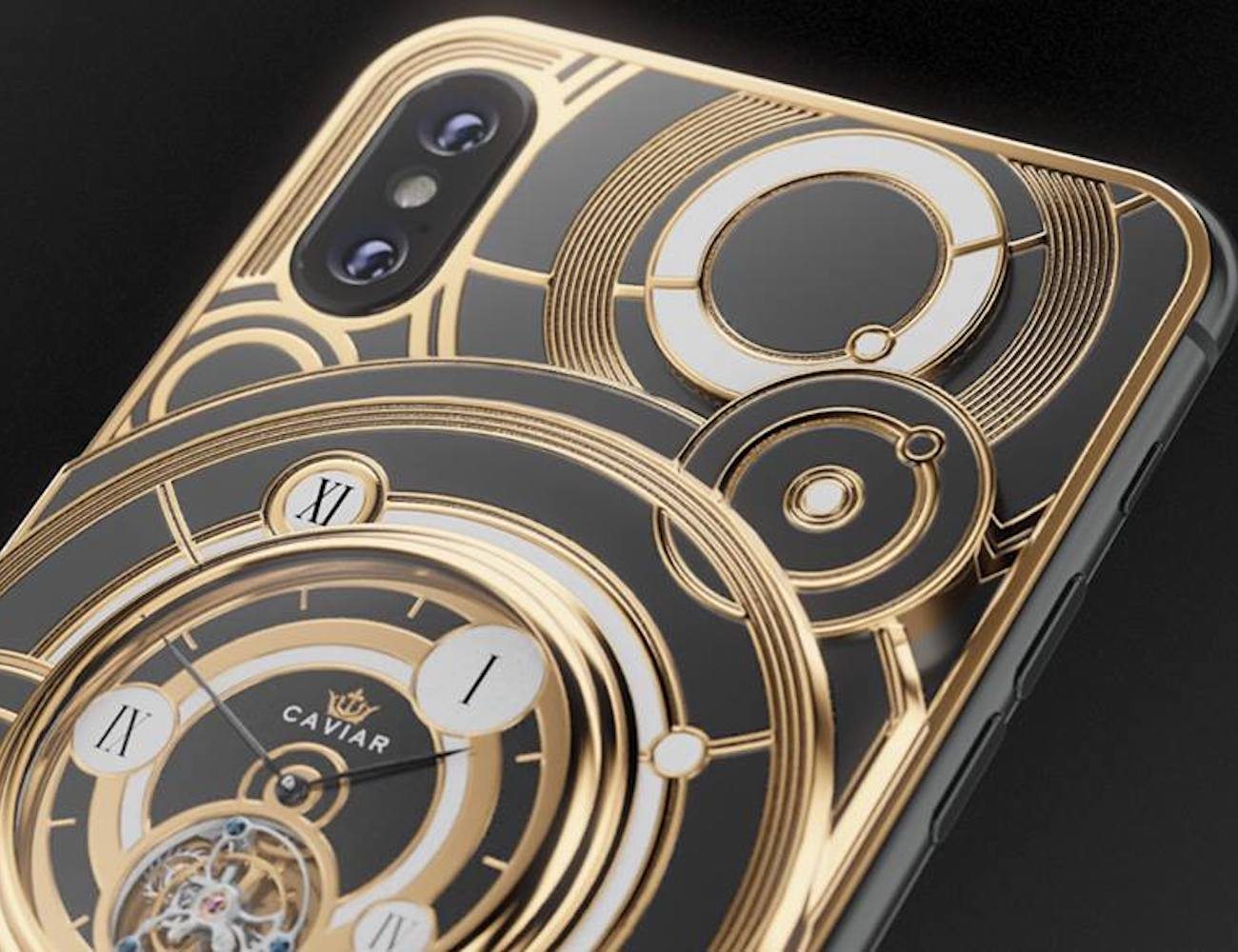 Caviar iPhone Xs Grand Complications Tourbillon combines a phone and watch