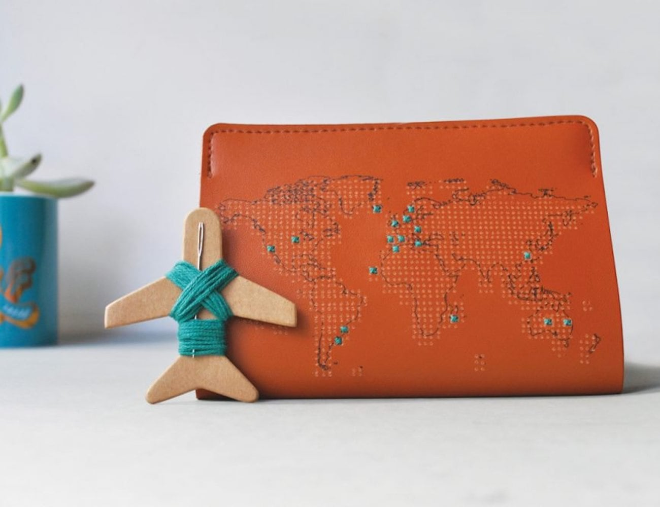 Chasing Threads Stitch Travel Passport Cover keeps track of where you've been