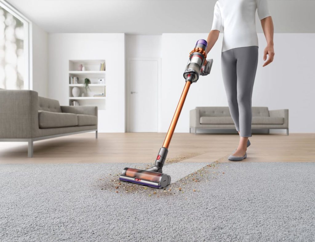 Dyson+V11+Absolute+Handheld+Cord-Free+Vacuum+cleans+carpet+and+hard+floors