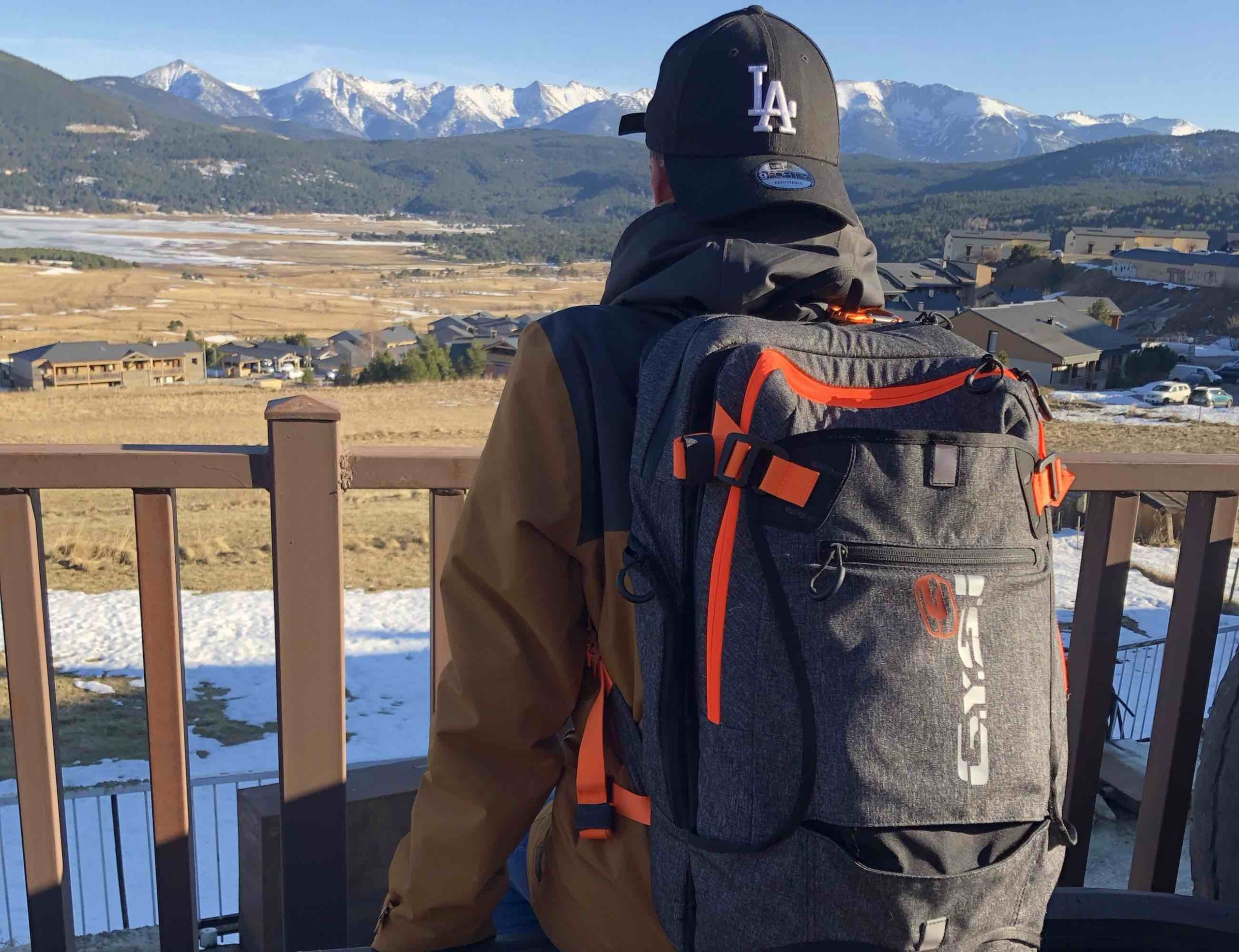 G.Y.S.T 2-in-1 Ultimate Sports Backpack offers the perfect spot for changing out of your gear