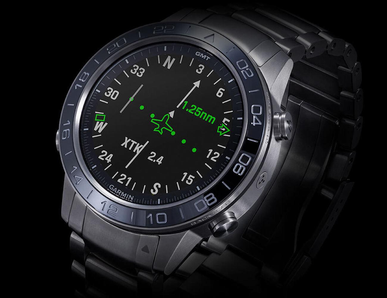 Garmin MARQ Aviator Modern Tool Smartwatch helps you fly confidently