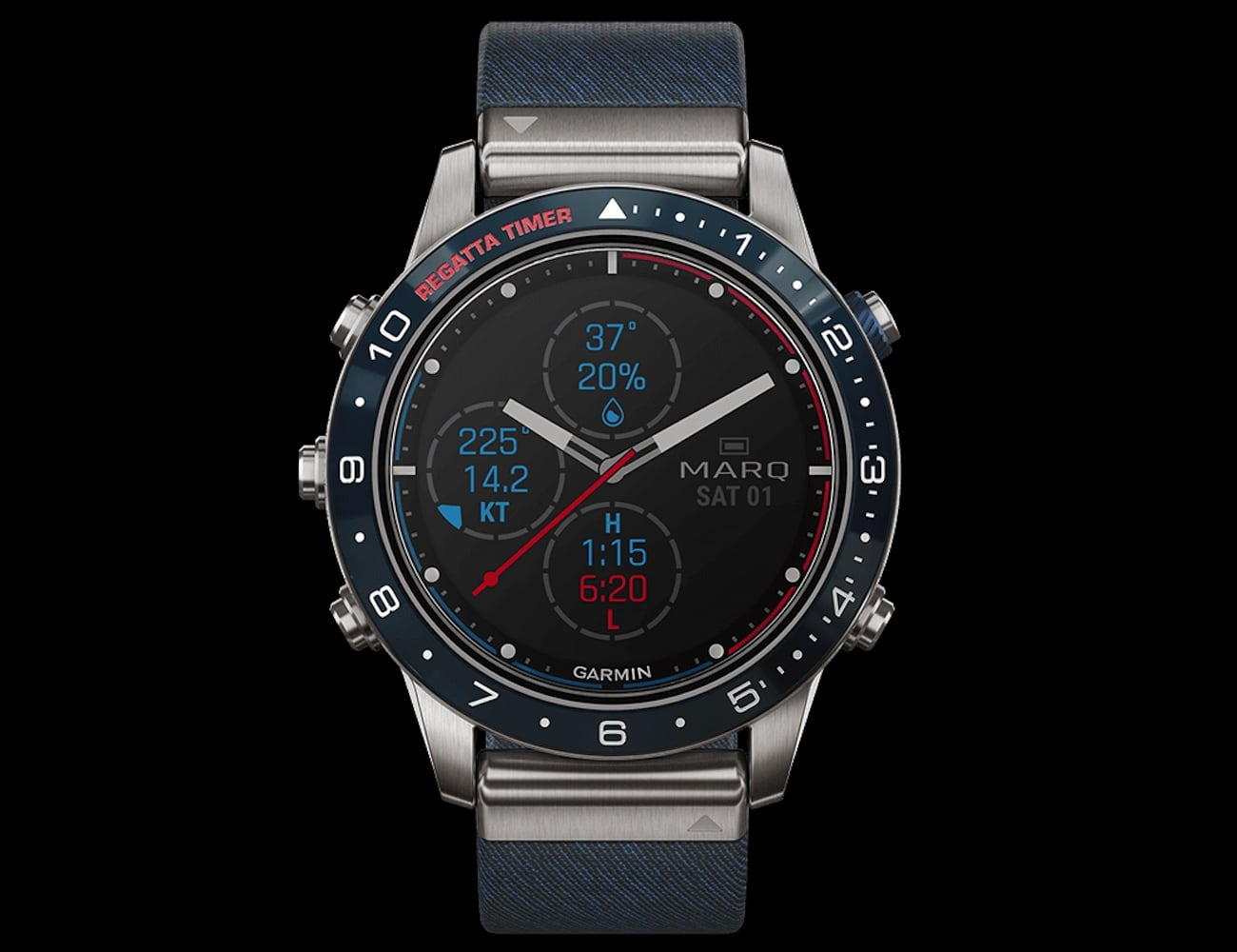 Garmin MARQ Captain Modern Tool Smartwatch is made for life at sea