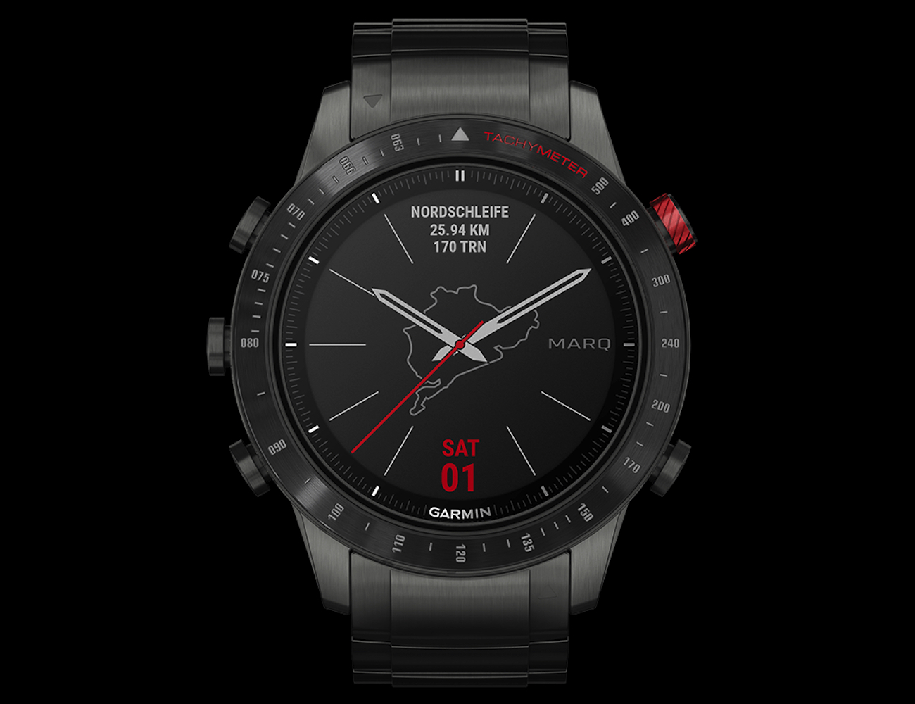 Garmin MARQ Driver Luxury Racing Tool Watch appeals to your inner racer