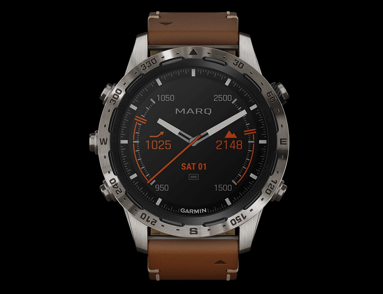 Garmin MARQ Expedition Modern Tool Watch keeps up with your adventures