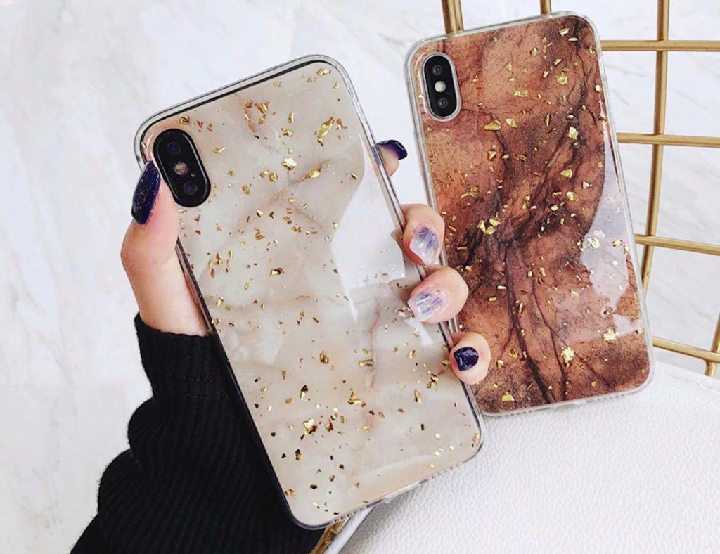 Gold+Foil+Bling+iPhone+Case+adds+a+spark+to+your+smartphone