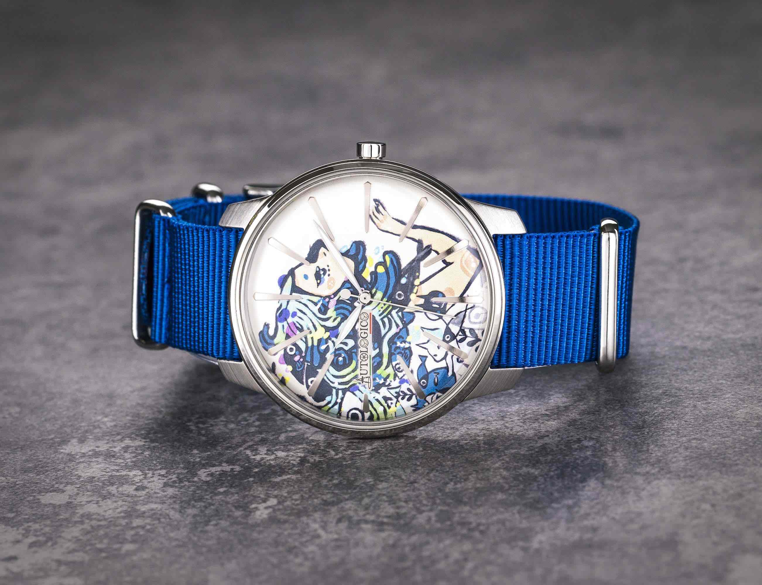 GraffiTIME 3D Printed Graffiti-Inspired Watch offers totally unique style loading=