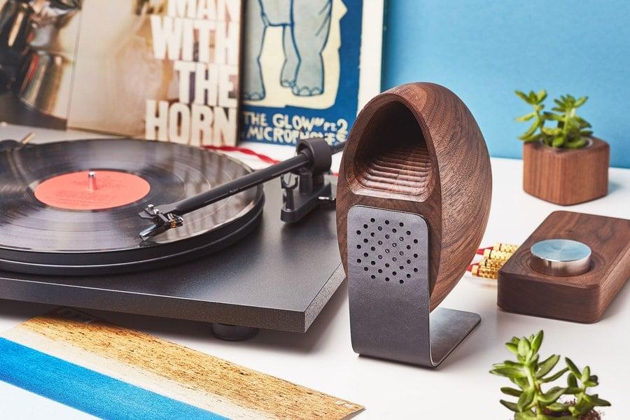 Grovemade Wooden Speaker System makes music sound better