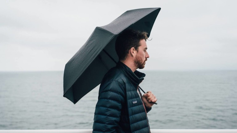 Hedgehog Durable Carbon Fiber Umbrella has a built-to-last design
