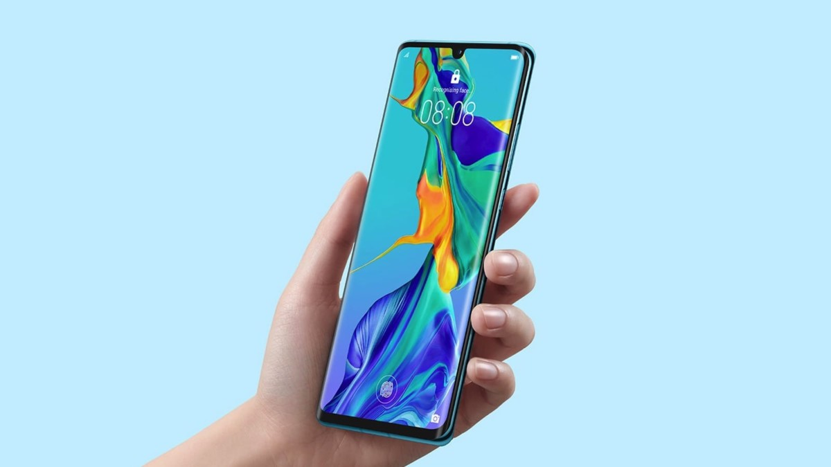 Huawei P30 Pro New Edition Quad Camera Smartphone now runs. onanDROID 10
