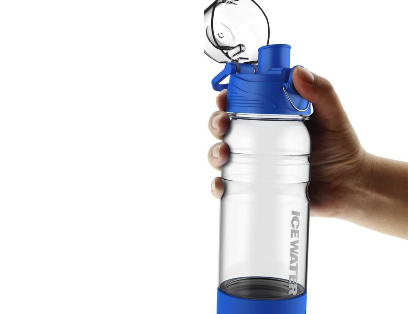 ICEWATER Smart Speaker Bottle keeps you hydrated
