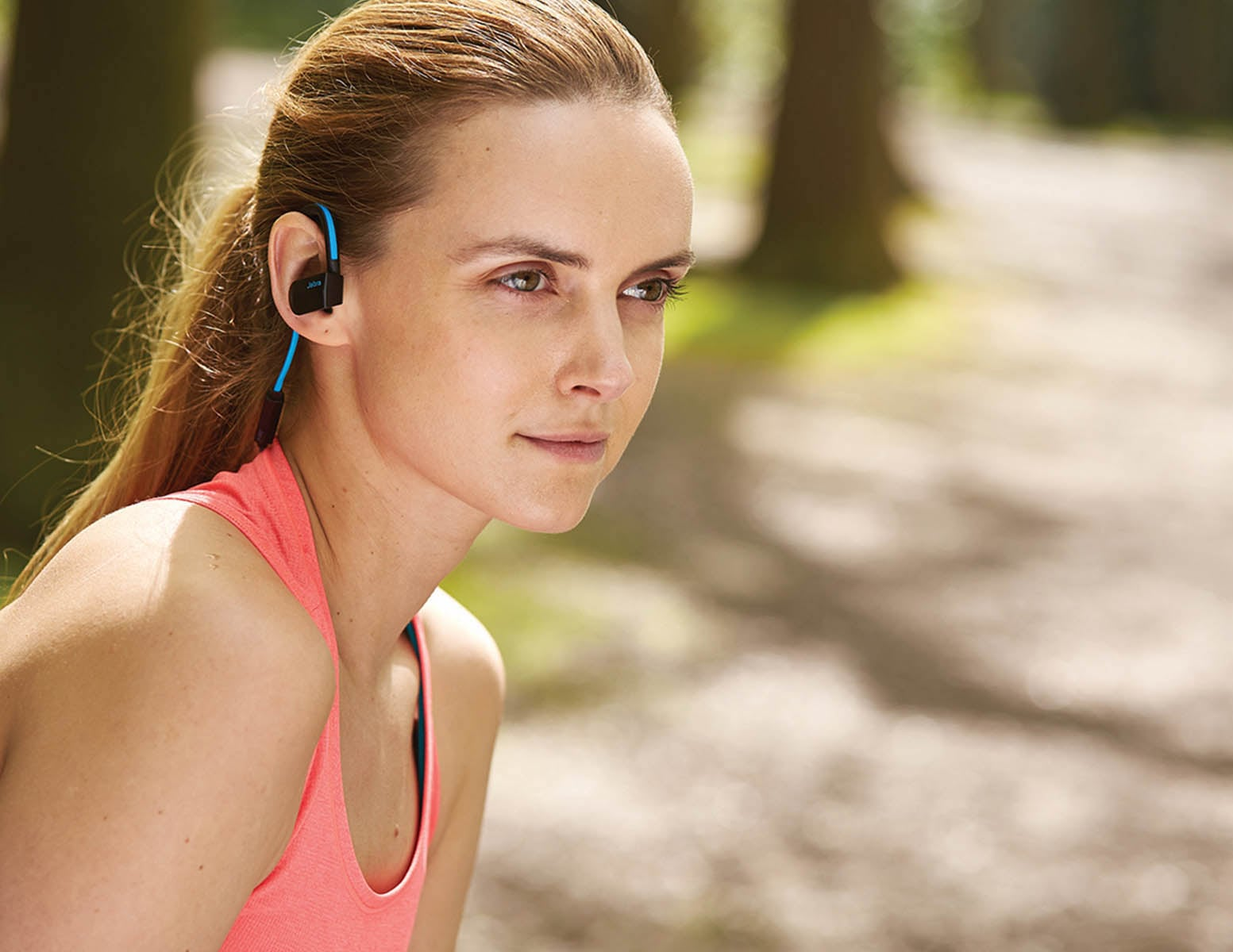 Jabra Sport Pace Wireless Sports Earbuds offer more freedom during your workouts