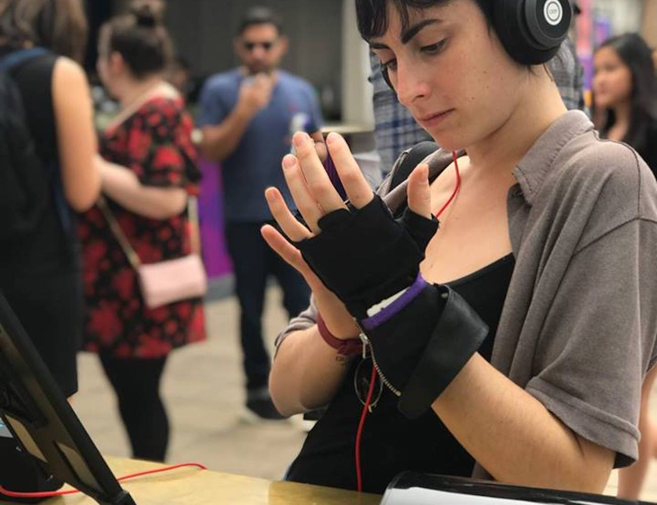 KAiKU Musical Touch Glove makes it possible for anyone to make music