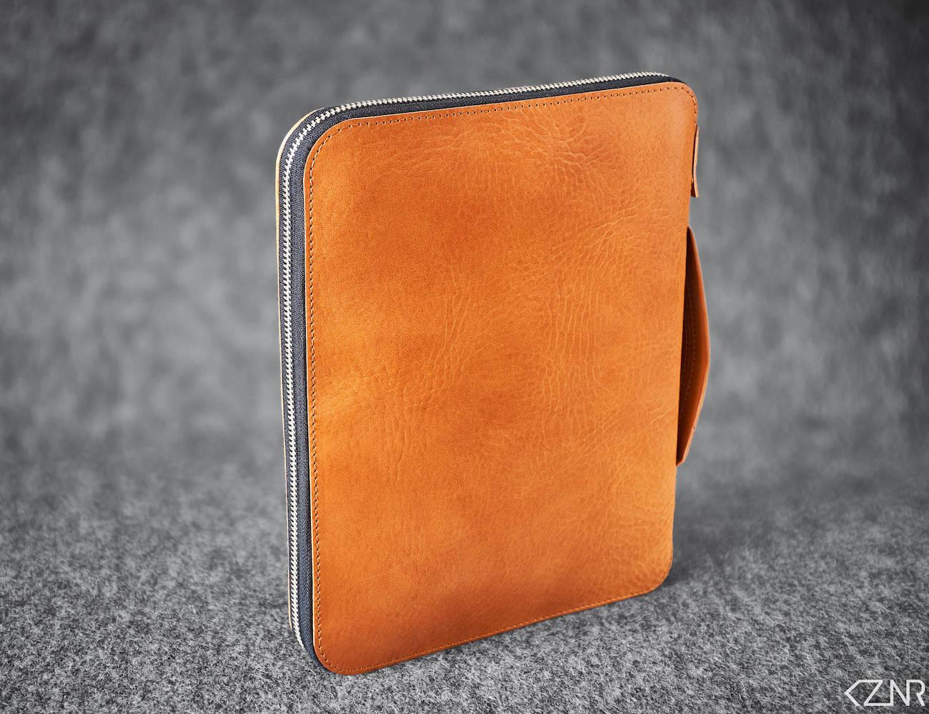 KZNR Minimalist Leather iPad Folio