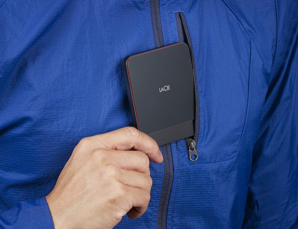 LaCie+Portable+2TB+USB-C+SSD+offers+plenty+of+storage