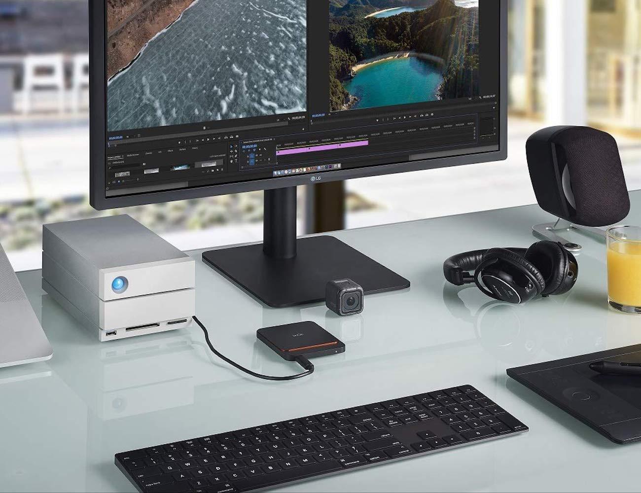 LaCie Portable 2TB USB-C SSD offers plenty of storage
