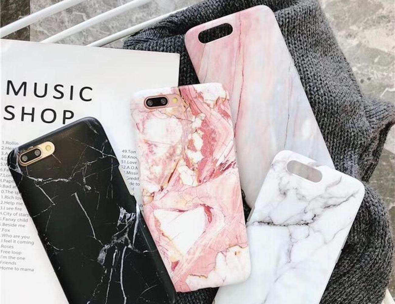 Luxury Marble iPhone Case offers a fresh take on sophistication