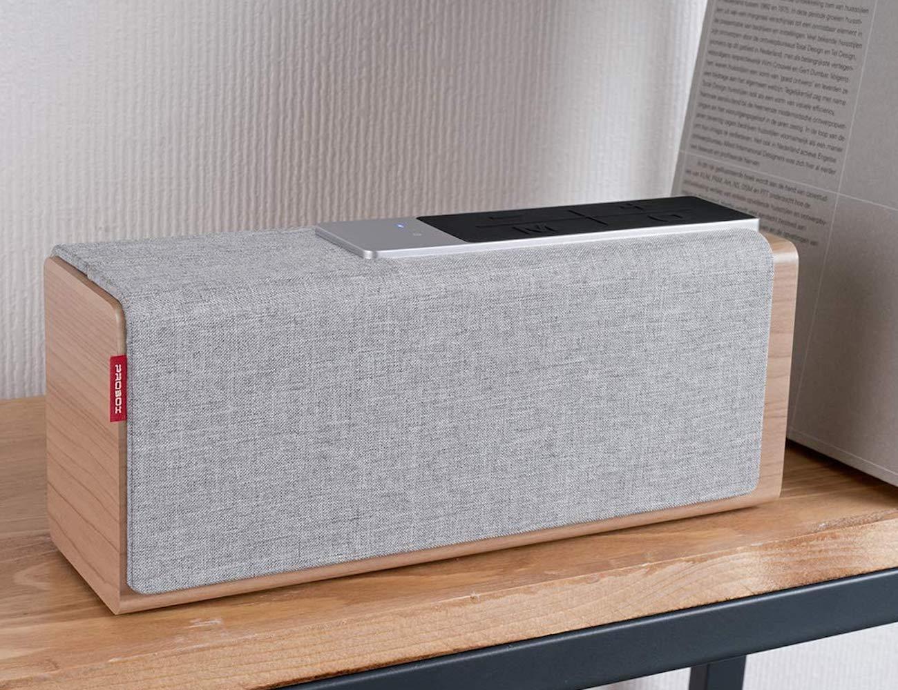 Mediasonic TEANA SOUND Wooden Bluetooth Speaker makes your music sound better