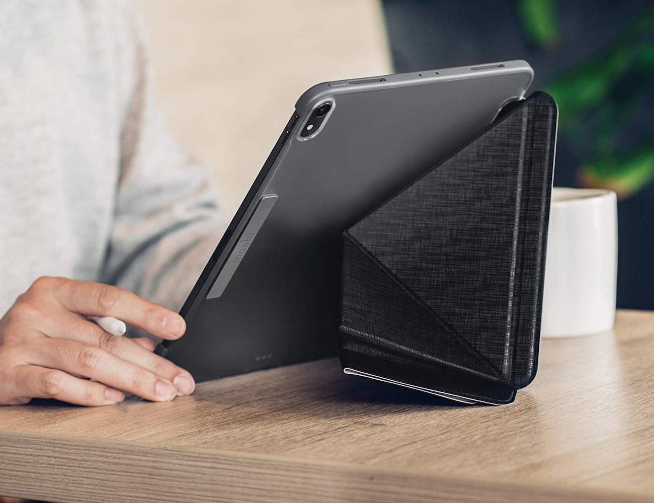 Moshi VersaCover iPad Folding Cover Case protects your device in style