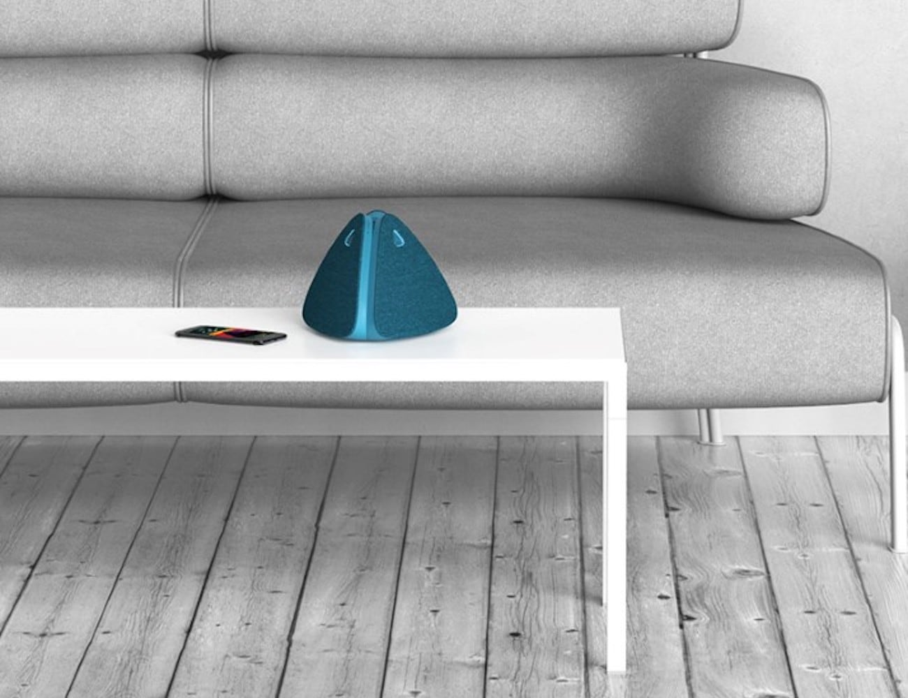 Museg Slim Triangular Speaker offers modular surround sound