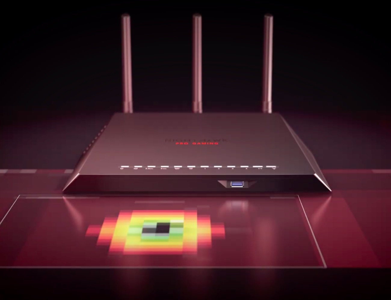 NETGEAR XR300 Nighthawk Pro Gaming Wi-Fi Router improves online gaming