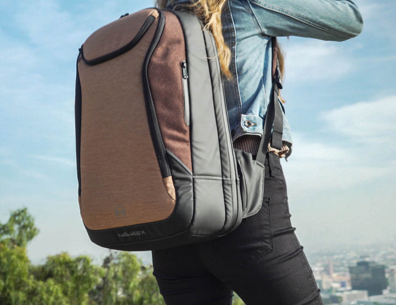 NEWEEX All-In-One Travel Backpack helps you stay prepared for any adventure