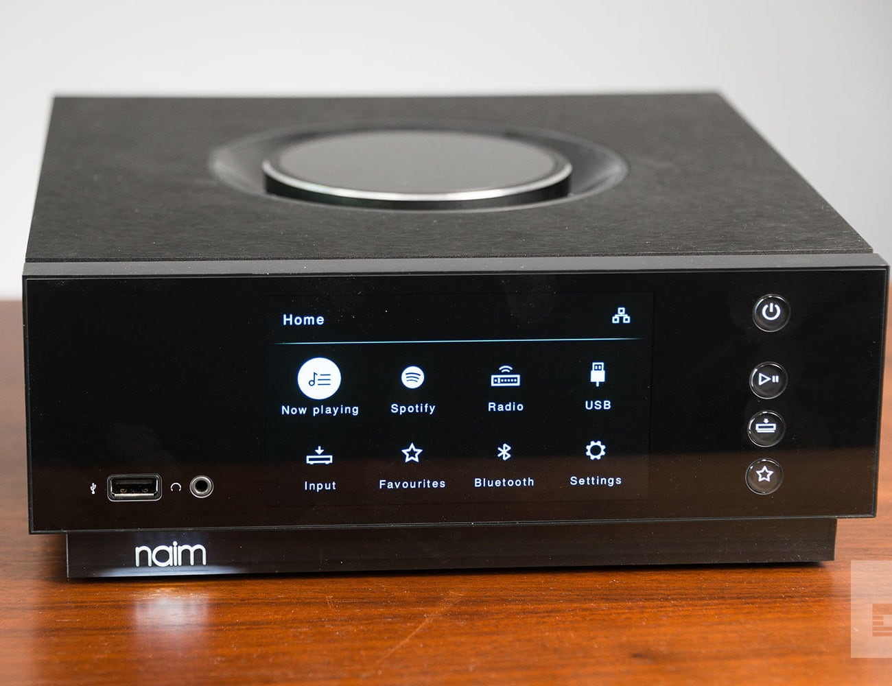 Naim Uniti Atom All-In-One Wireless Music Player works with any music source