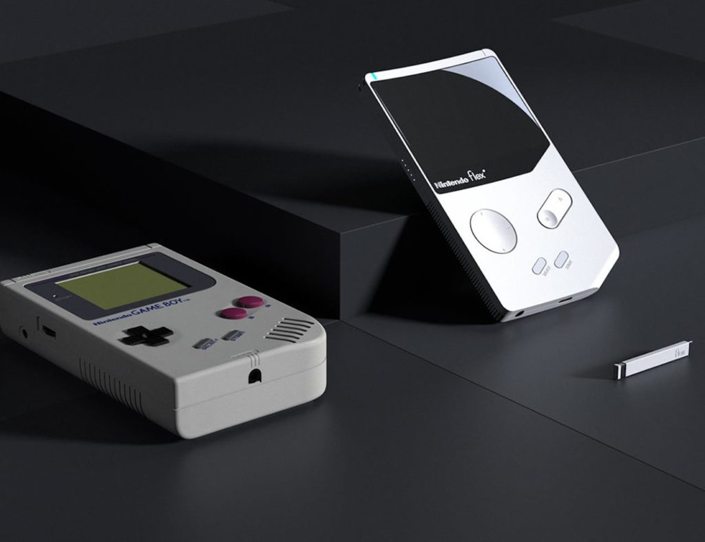 Nintendo+Flex+Game+Boy+Concept+modernizes+the+classic+gaming+console