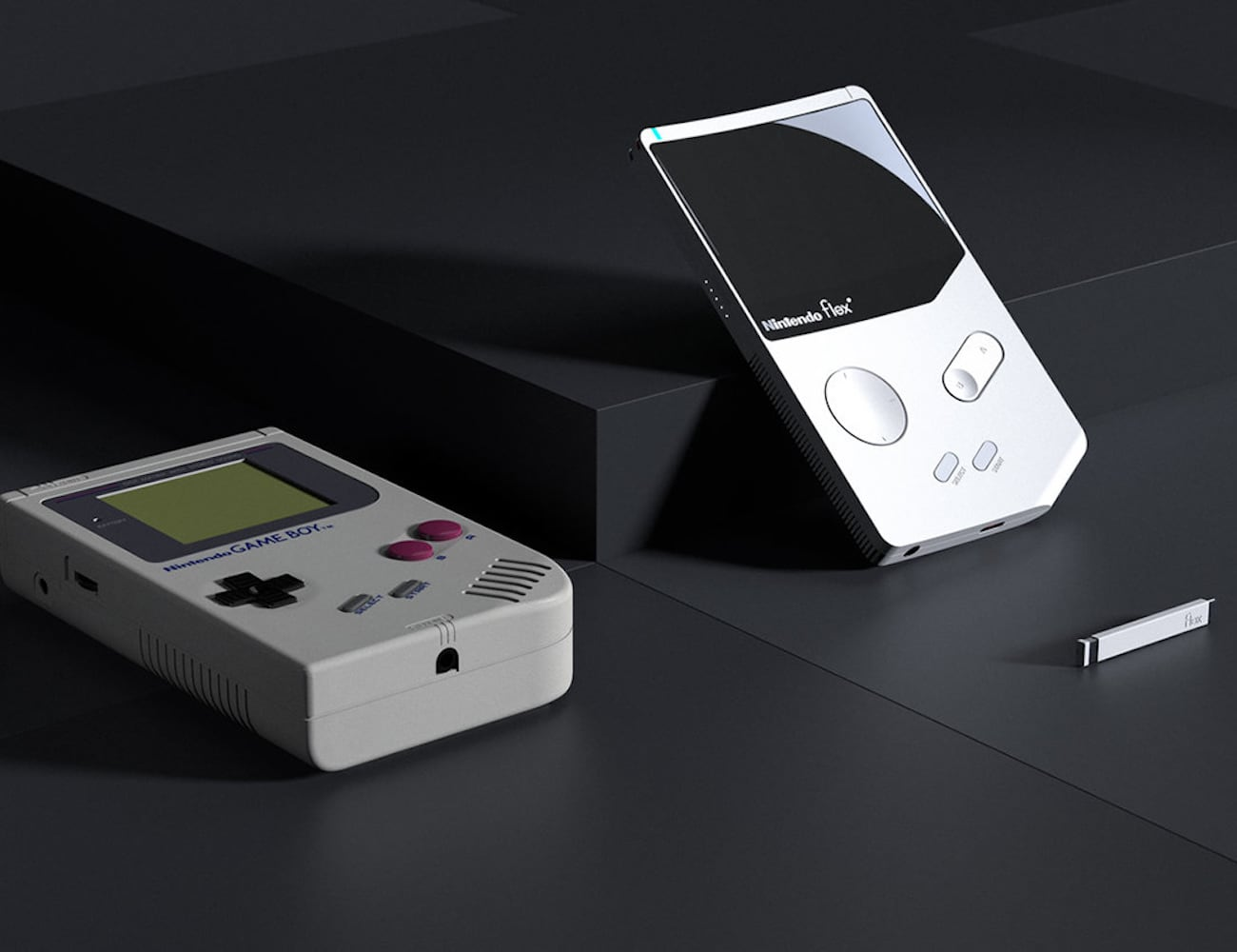 Nintendo Flex Game Boy Concept modernizes the classic gaming console