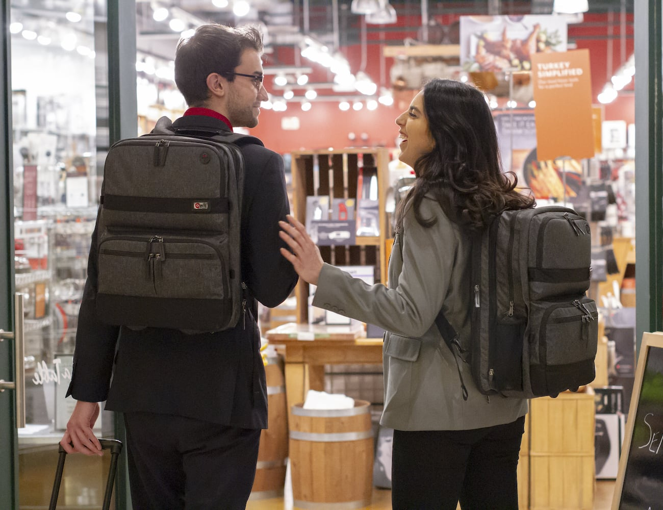 The Venture Rolling Pack Is A Luggage System With Three Parts