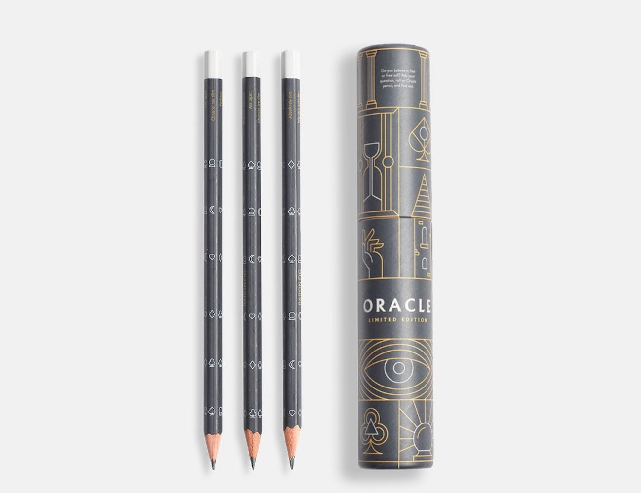 Oracle Limited Edition Pencil Set answers your burning questions