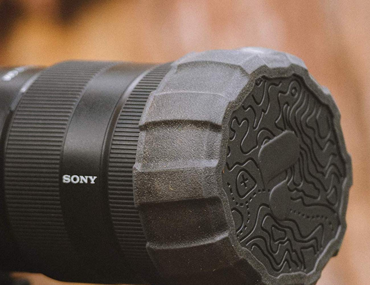 PolarPro Defender Rugged Lens Cover protects the front of your lens
