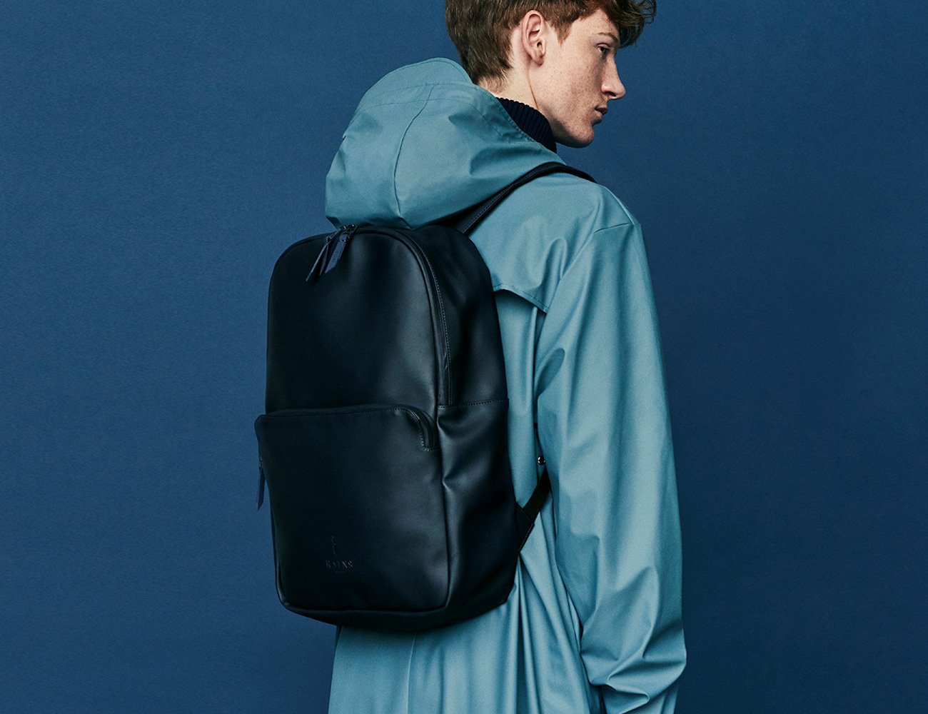 RAINS Field Bag Waterproof Minimalist Backpack is comfortable and stylish
