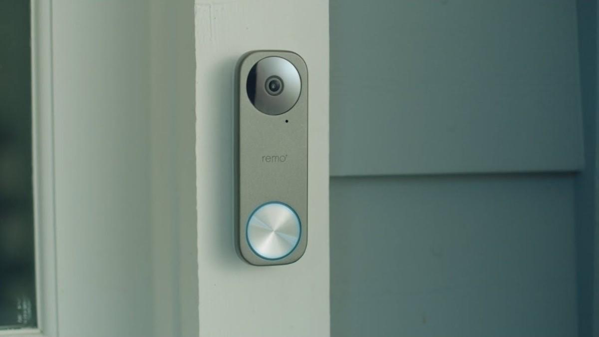 Remo+ RemoBell S Fast-Responding Smart Video Doorbell monitors your front door