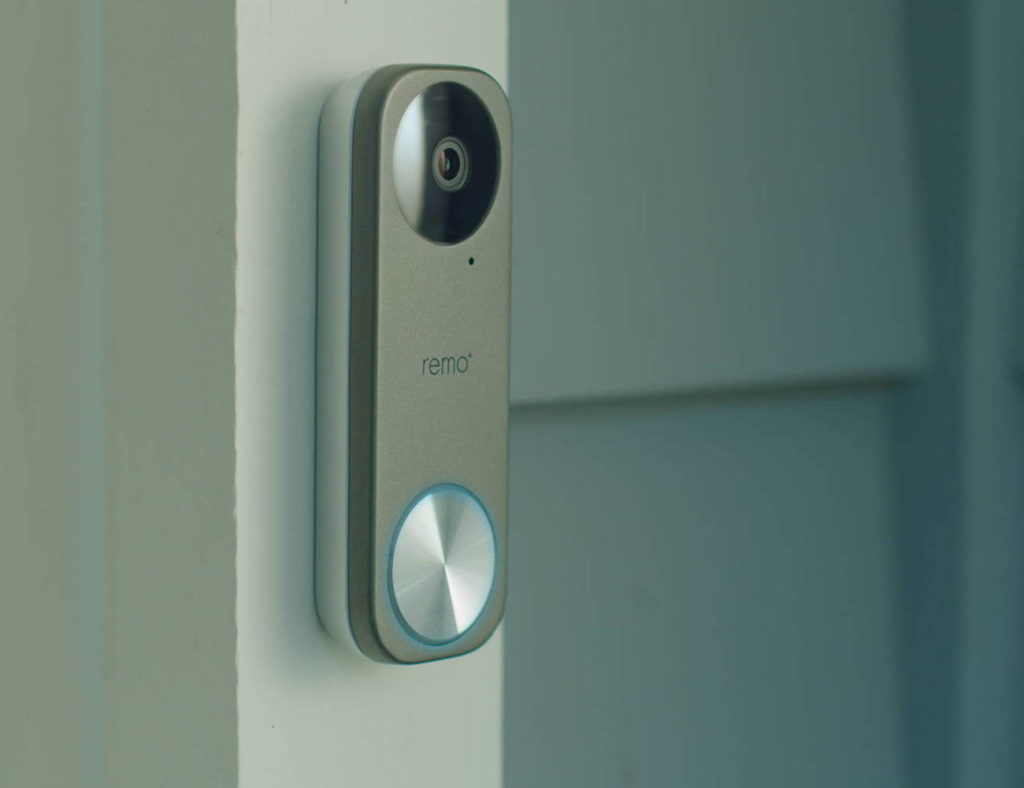 RemoBell+S+Fast-Responding+Smart+Video+Doorbell+monitors+your+front+door