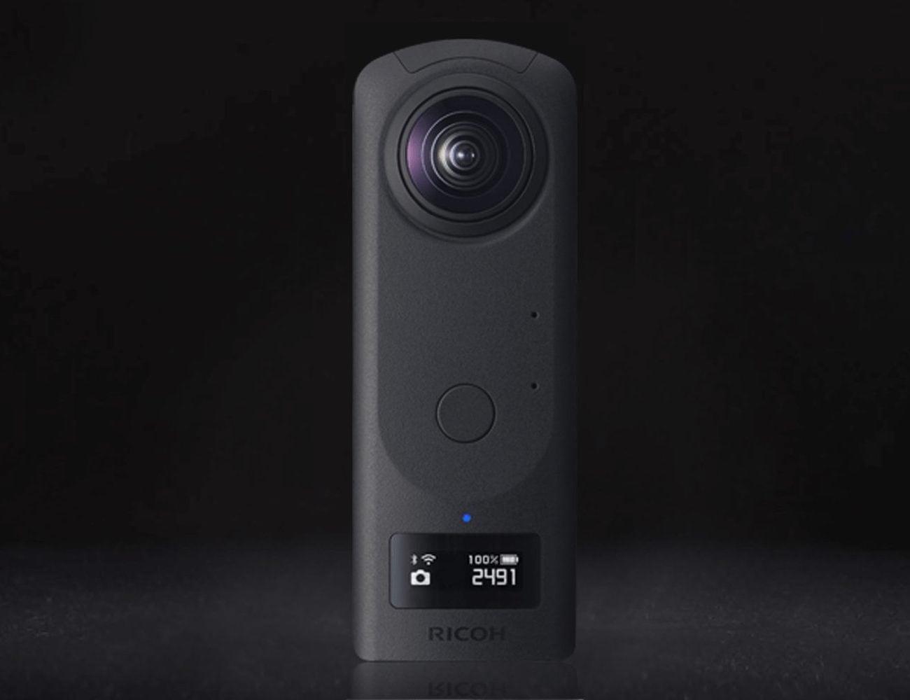 Ricoh Theta Z1 Handheld 360 Camera captures 7K stills