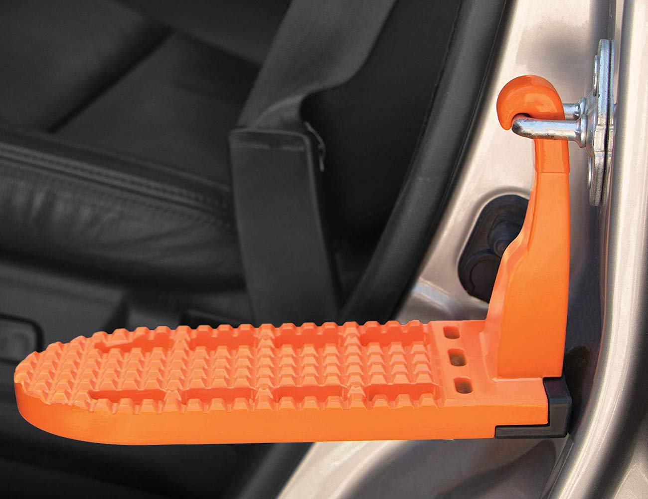 Rightline Gear Moki Car Door Step makes it easy to reach your roof