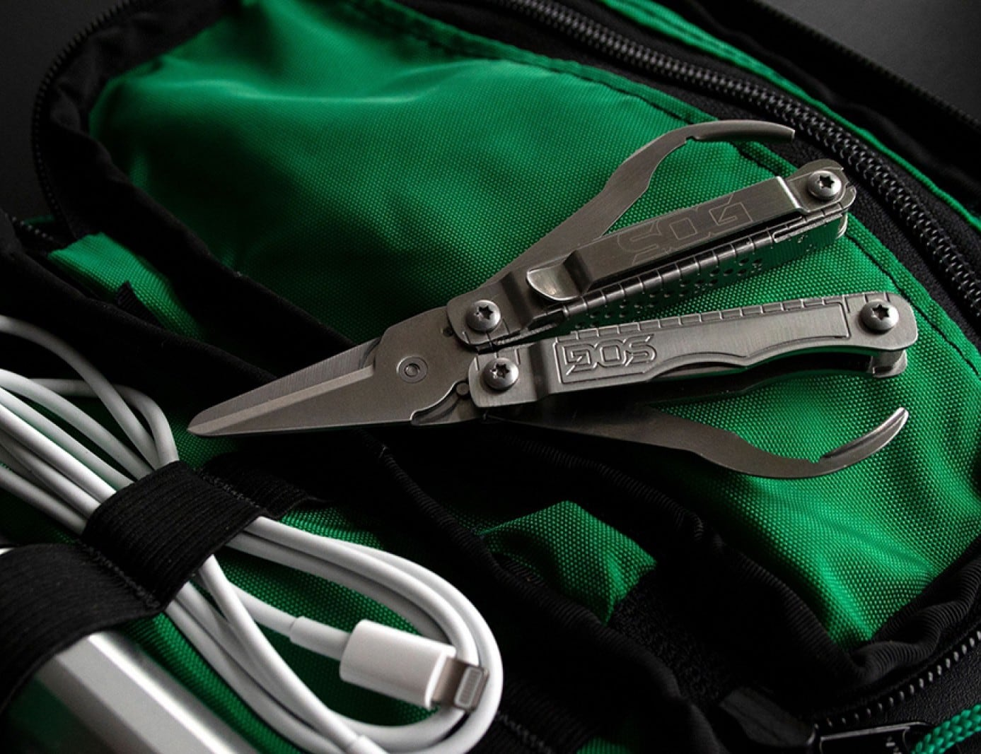 SOG Snippet Keychain Multi-Tool comes with nine useful tools