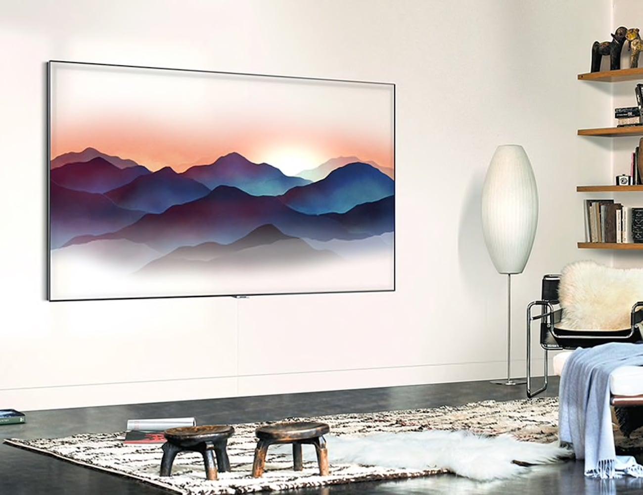 Samsung QLED Smart 4K UHD TV offers over a billion shades of Qi color