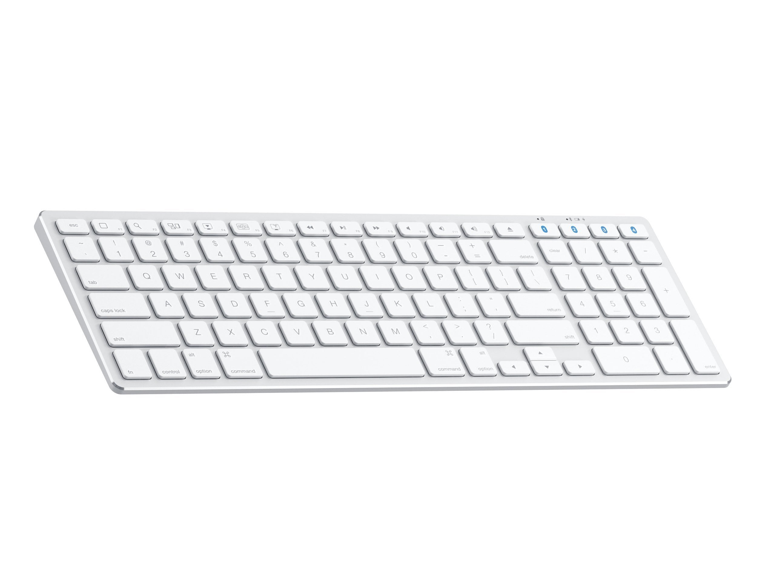 the aluminum slim wireless keyboard adds a full keyboard to your device. Black Bedroom Furniture Sets. Home Design Ideas