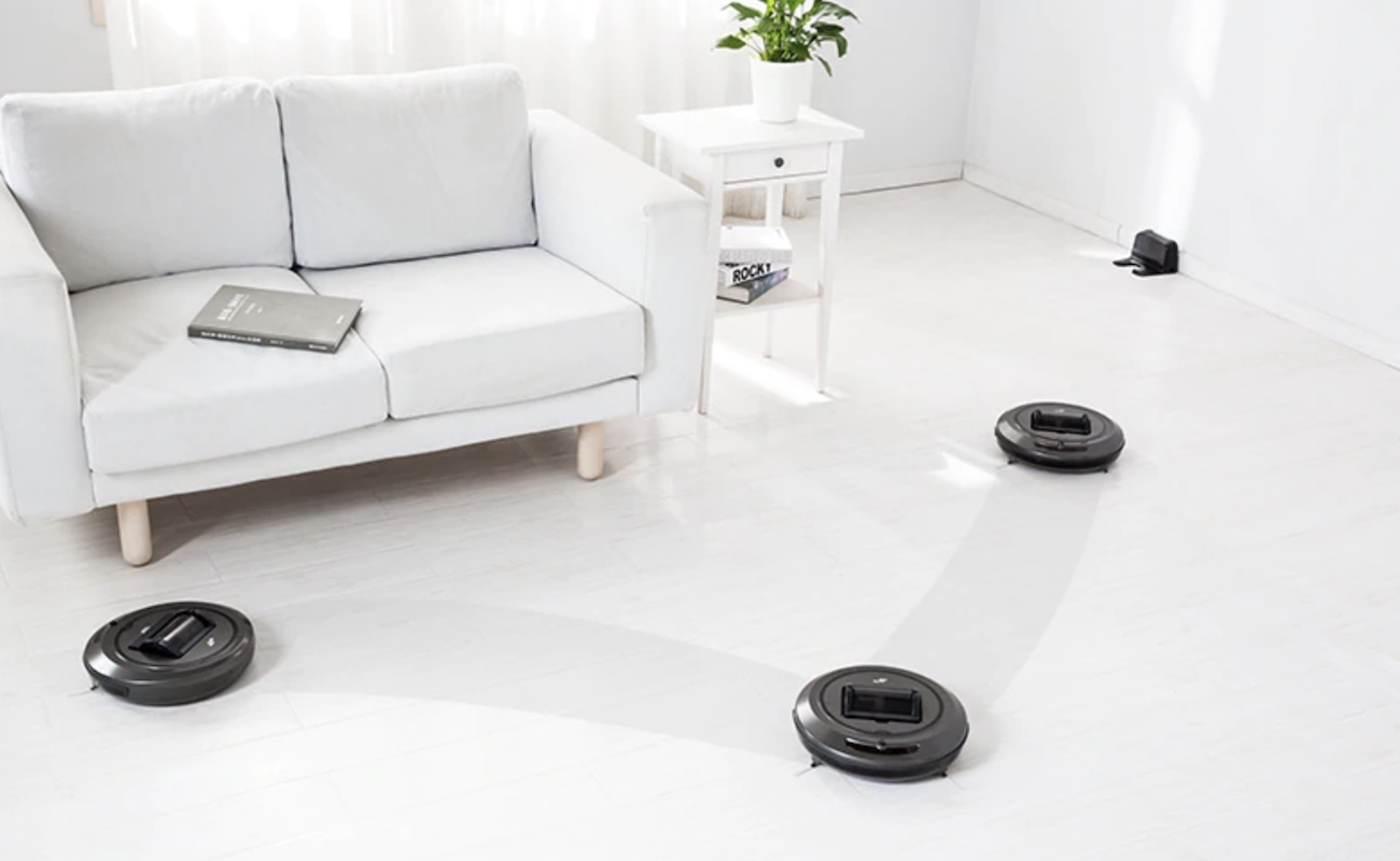 Smart Robotic Vacuum Cleaner does the hard work for you
