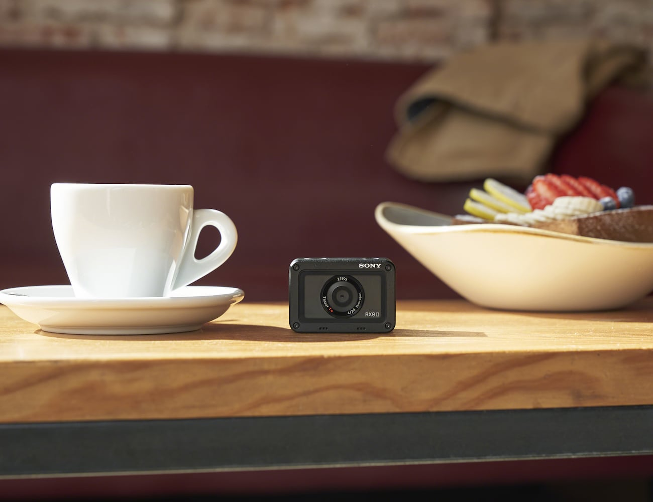 Sony RX0 II Premium Tiny Tough Camera takes photos and videos anytime, anywhere
