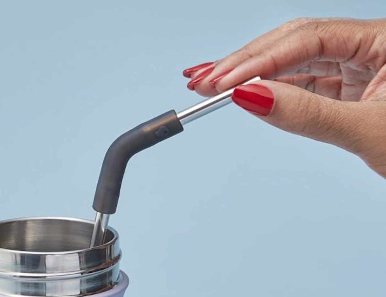 S'well Stainless Steel Straw Set eliminates the need for plastic straws