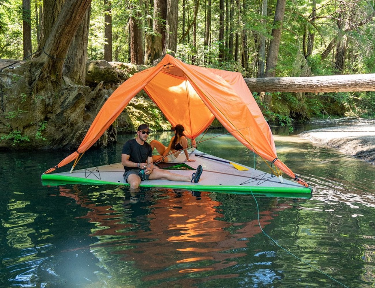 Tentsile Universe Family Tree Tent can fit five adults