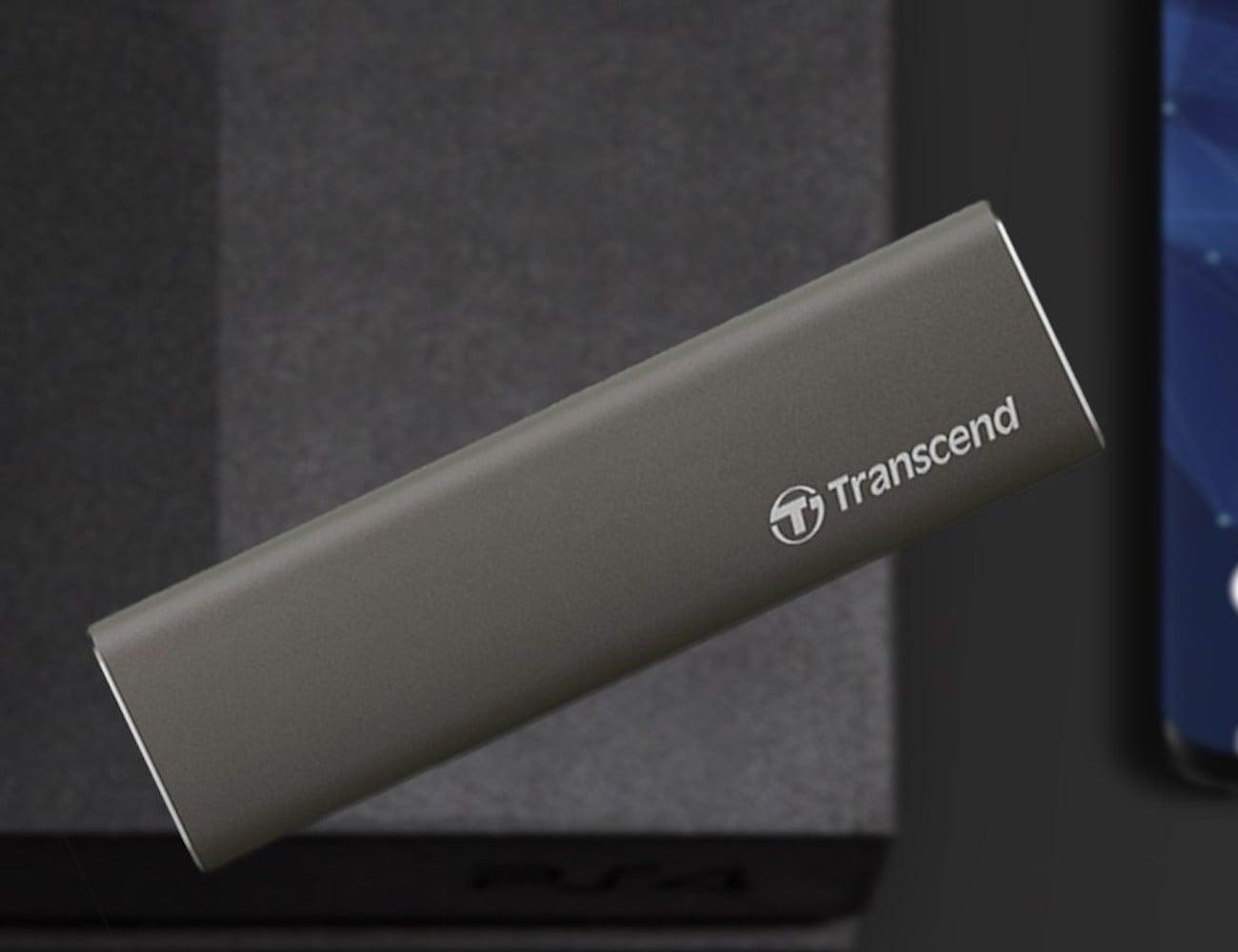 Transcend ESD250C Sleek Portable SSD boasts fast transfer speeds