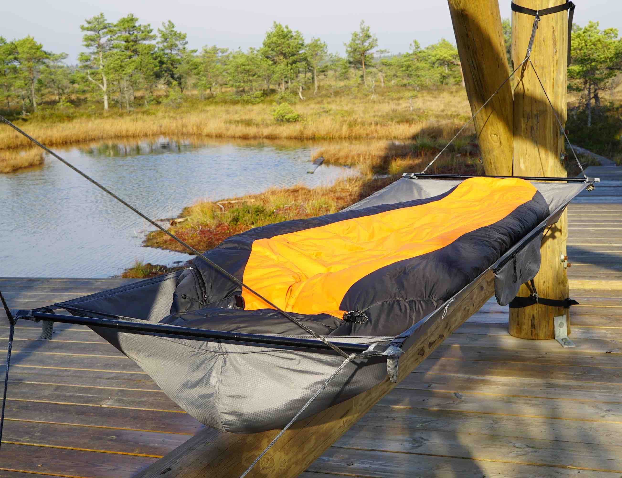 Treem Is A Flat Lay Hammock That You Can Really Lie Back In