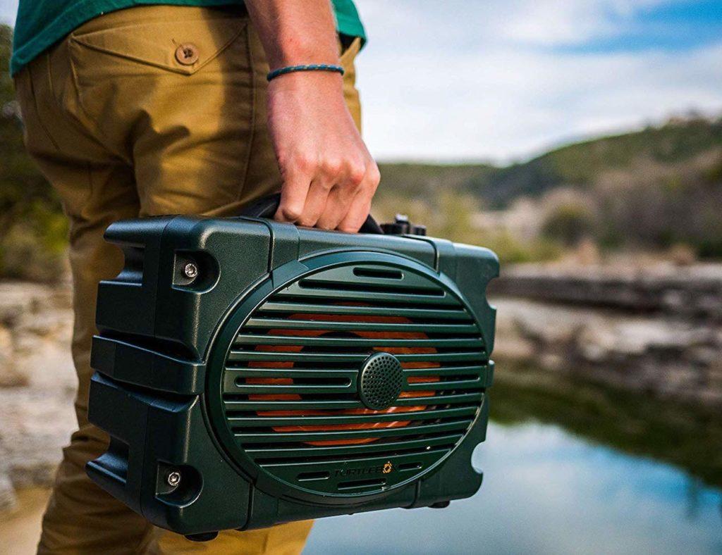 Turtlebox+Loud+Waterproof+Outdoor+Speaker+delivers+up+to+120dB
