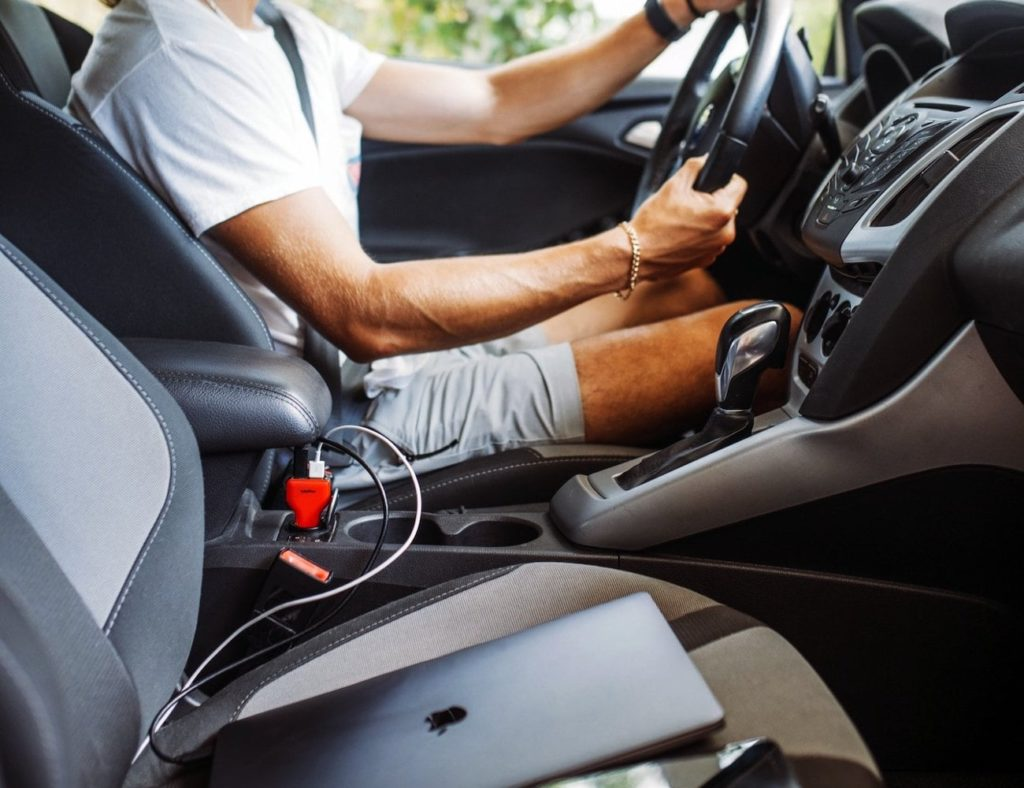 VogDUO USB-C Car Charger