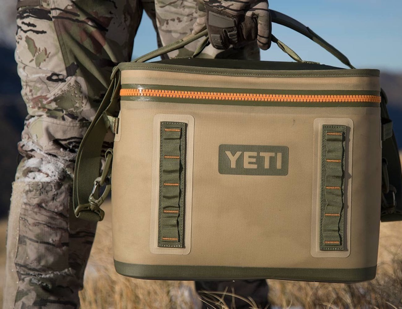YETI Hopper Flip Portable Soft Cooler keeps its contents colder for longer